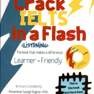 فروش کتاب crack ielts flash listening