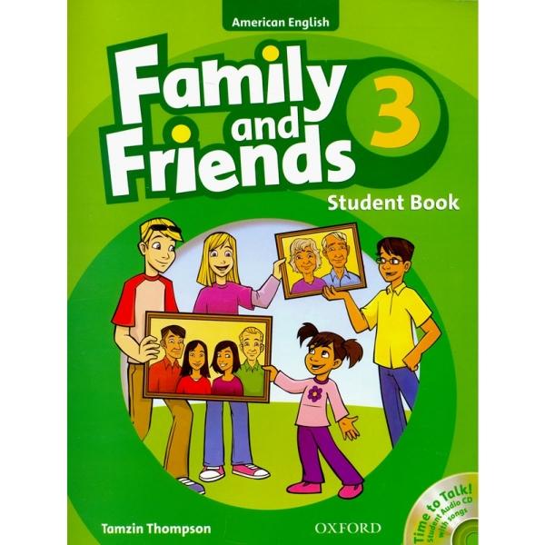 فروش کتاب family & friends 3