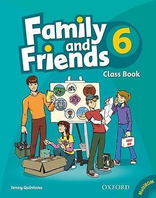 فروش کتاب family & friends 6
