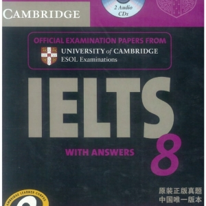 فروش کتاب ielts cambridge8