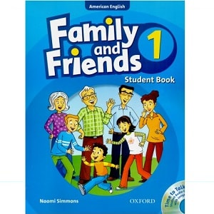 فروش کتاب family&friends 1