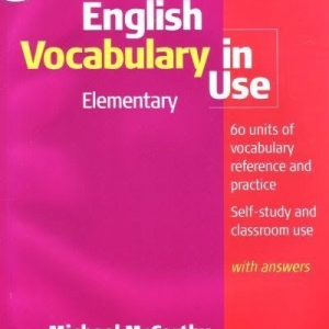 English Vocabulary in useelementrary