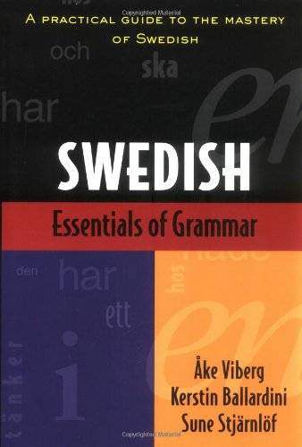 فروش کتاب Swedish an essential grammar