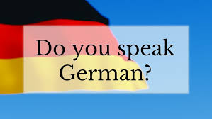Adult German language training