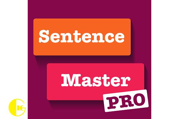 اپلیکیشن sentens master pro