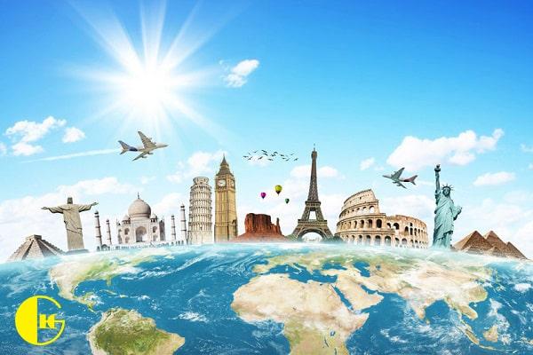 بازدید از کشور ها برای یادگیری زبان