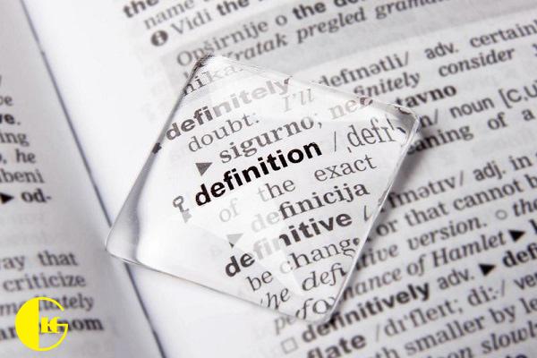 فرهنگ لغت انگلیسی