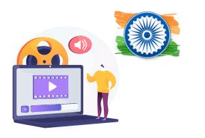 پکیج های غیرحضوری هندی