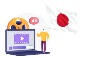 پکیج های غیرحضوری زبان ژاپنی