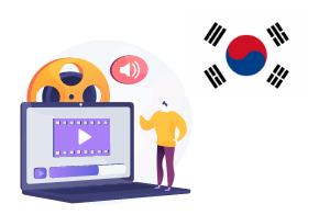 پکیج های غیرحضوری زبان کره ای