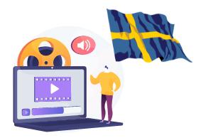 پکیج های غیرحضوری زبان سوئدی